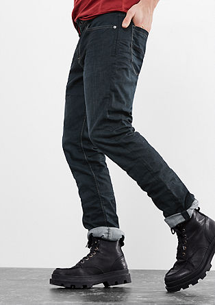 Pete Straight: Textured jeans from s.Oliver