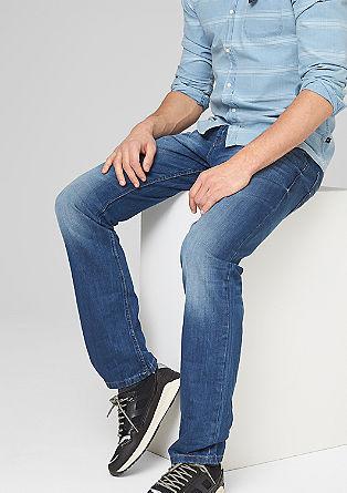 Pete straight: used look jeans