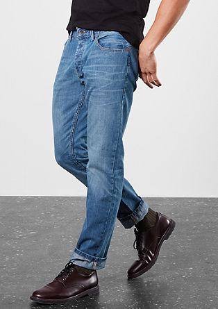 Pete Straight:jeans hlače v obrabljenem videzu