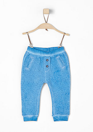 Pigment-dyed tracksuit bottoms from s.Oliver