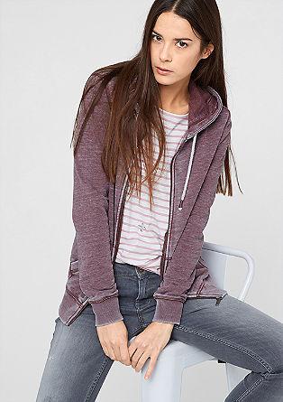 Pigmentno obarvana športna jakna