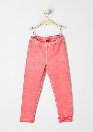 Pigmentno obarvane športne hlače