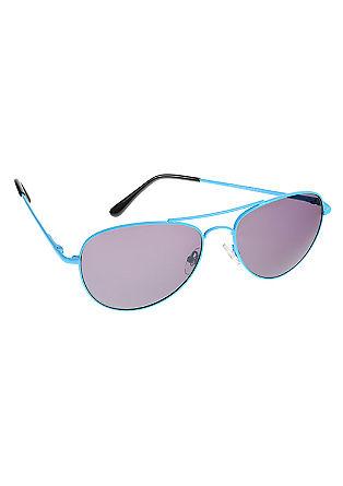 Pilotenbril in krachtige kleur