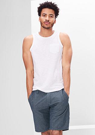 Plek Loose: Črtaste bermuda hlače
