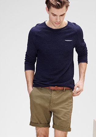 Plek Loose: Shorts mit Gürtel
