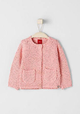 Pletena jakna iz efektne preje