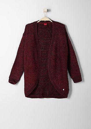 Pletena jakna iz elegantne preje