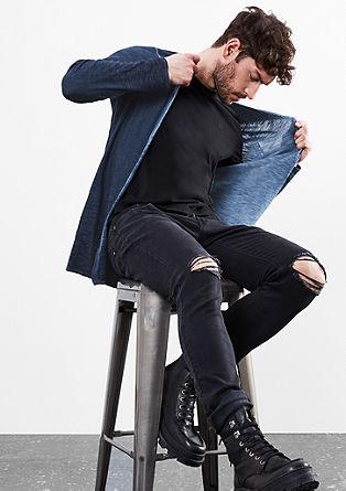 Pletena jakna s kapuco
