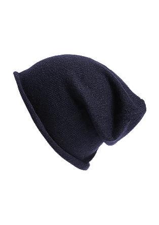 Pletena kapa s kašmir volno