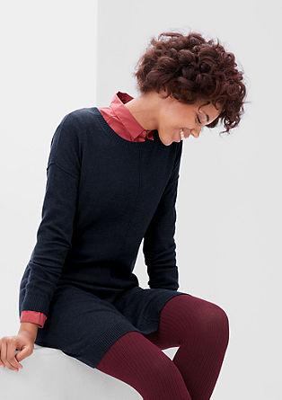 Pletena obleka z volno