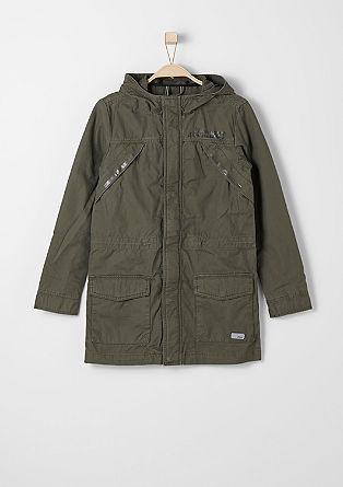 Podaljšana jakna iz tvila