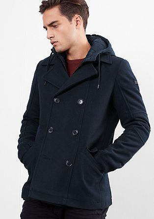 Podložena caban jakna z vstavkom