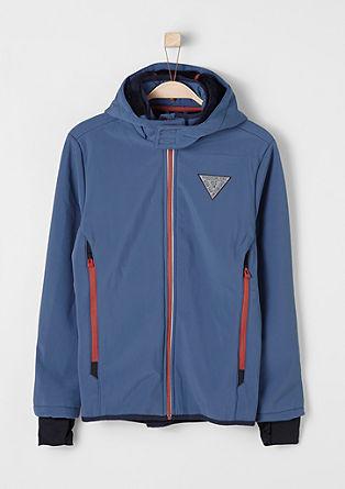 Podložena jakna iz softshella