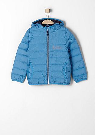 Podložena večnamenska prešita jakna