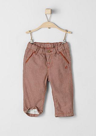 Podložene hlače iz blaga