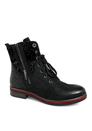 podloženi usnjeni škornji