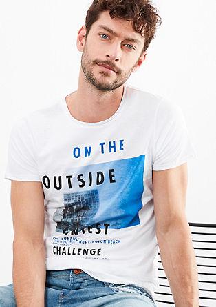 Poletna majica s potiskom