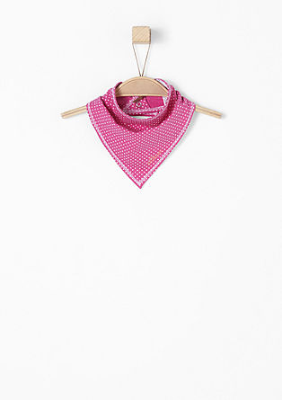 Polka dot scarf from s.Oliver