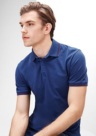Polo shirt in cotton jersey from s.Oliver