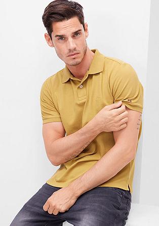Poloshirt aus Baumwoll-Piqué