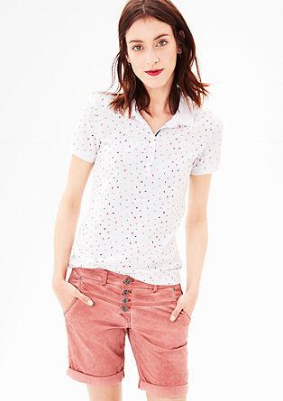 Poloshirt met een print all-over