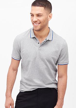 Poloshirt met een sportieve look