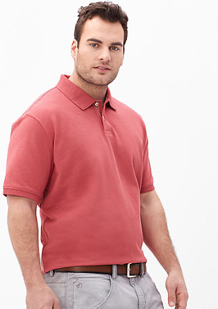 Poloshirt van katoen-piqué
