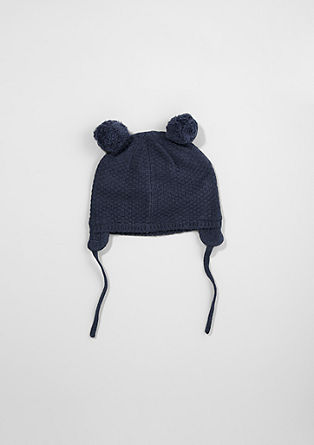 Pompom hat from s.Oliver