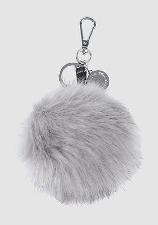 Pompom key ring from s.Oliver
