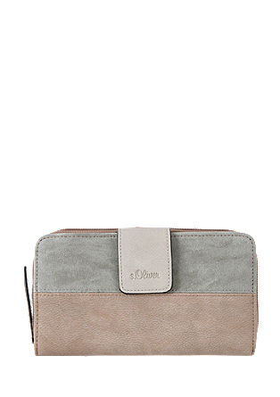 Portemonnaie im Materialmix