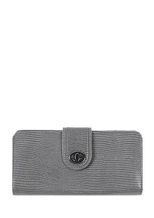 Portemonnaie mit Drehschließe