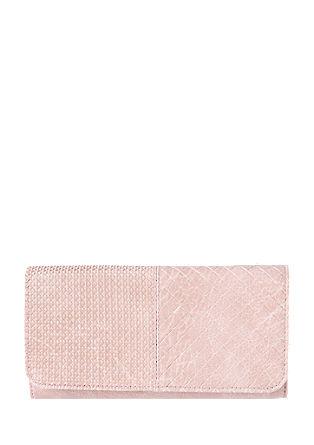 Portemonnaie mit Prägemuster
