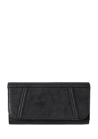 Portemonnaie mit Ziernähten