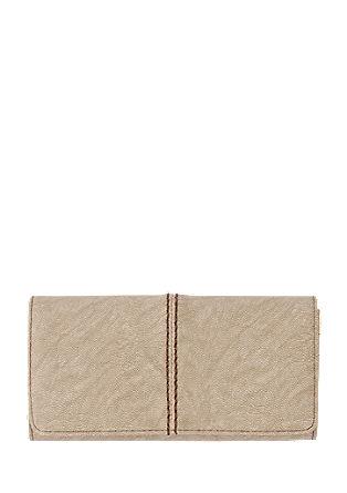 Portemonnaie mit Ziernaht