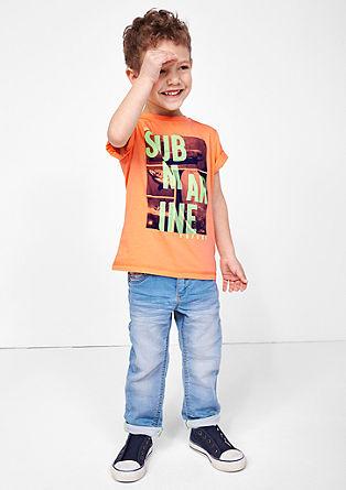 Potiskana majica močnih barv