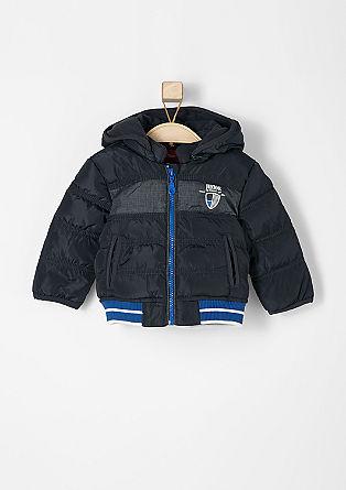Prešita jakna v slogu bluzona, ki odbija vodo