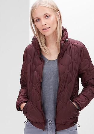 Prešita jakna v slogu bluzona