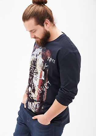 Printed jersey T-shirt from s.Oliver