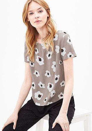 Printshirt im Layer-Look