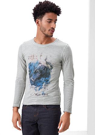 Printshirt in Garment Dye