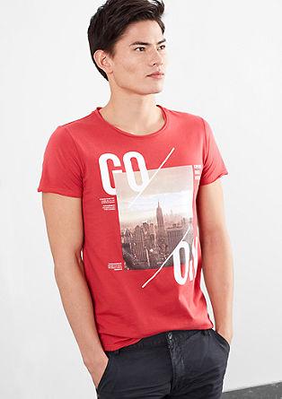 Printshirt mit City-Motiv