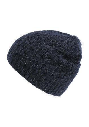 Puhasto mehka pletena kapa