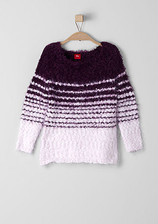 Pullover aus Fancy-Garn