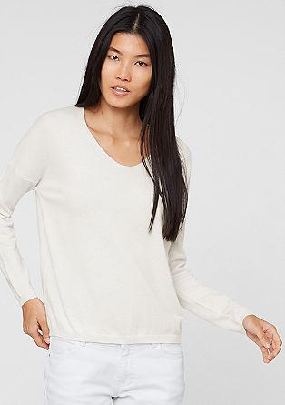 Pullover aus Kaschmir-Mix