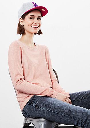 Pullover in Garment Dye
