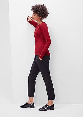Pullover mit Manschettenknöpfen
