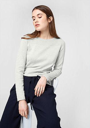 Pullover mit Nacken-Zipper