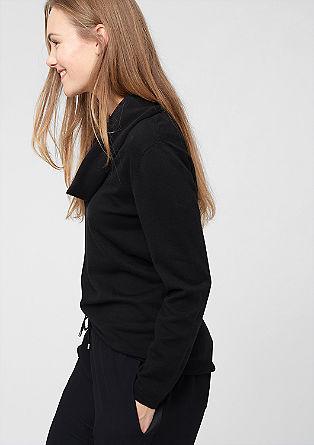 Pullover mit Schlauchkragen