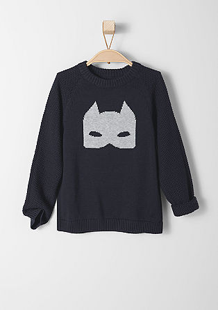 Pullover mit Strukturmix