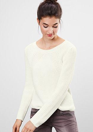 Pullover mit Strukturstrick